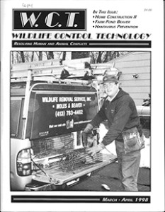 Stephen M. Vantassel when he owned Wildlife Removal Service, Inc. in Springfield, MA.